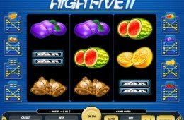 Jogo caça-níqueis online grátis High Five II