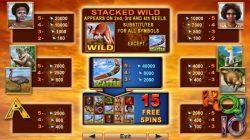 O caça-níqueis online grátis Kangaroo Land Recurso Gamble  pode ser usado para duplicar seu dinheiro