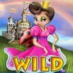 Curinga do jogo caça-níqueis online Rainbow Queen
