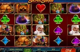 Jogos de cassino grátis Secret Santa