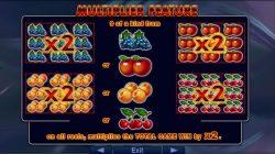 Multiplicador do caça-níqueis online  de cassino Supreme Hot