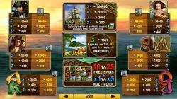 Jogo caça-níqueis de cassino grátis The Explorers - tabela de pagamento