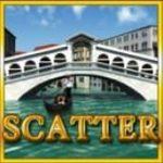 Símbolo disperso do caça-níqueis de cassino online Venezia D´oro