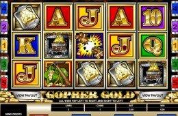 Jogue o caça-níqueis online grátis Gopher Gold