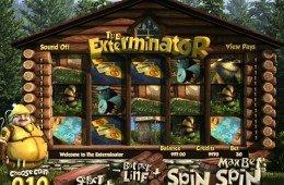 Jogo caça-níqueis de cassino online grátis The Exterminator