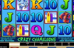 Jogo caça-níquel online grátis Crazy Chameleons