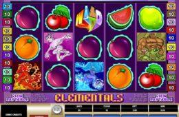 Caça-níqueis online grátis Elementals