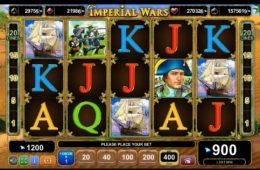 Caça-níquel online grátis Imperial Wars de entretenimento