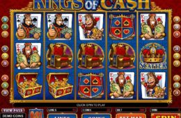 Caça-níqueis online grátis Kings of Cash