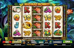 Caça-níqueis de cassino online grátis Mad Mad Monkey