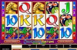 Caça-níqueis online grátis Oriental Fortune