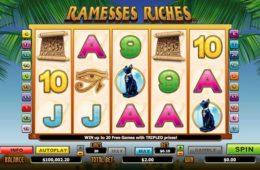Caça-níqueis online grátis Ramesses Riches