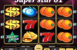 Caça-níqueis online grátis Super Star 81
