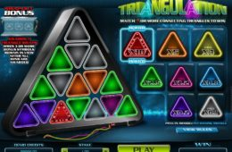 Caça-níqueis de entretenimento online grátis Triangulation
