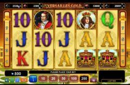 Jogo caça-níqueis online grátis Versailles Gold sem depósito.