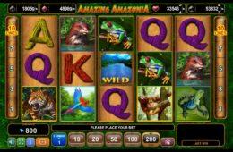 Jogue o caça-níqueis online Amazing Amazonia gratuitamente