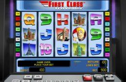 Caça-níqueis online First Class Traveller sem depósito