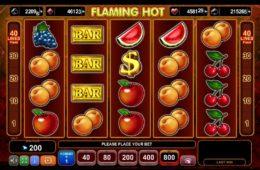 Caça-níqueis de entretenimento online Flaming Hot