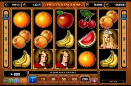 Caça-níqueis de cassino online grátis Fruits Kingdom