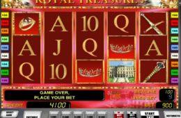 Jogue o caça-níqueis de cassino online grátis Royal Treasures