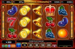 Shining Crown caça-níqueis grátis sem depósito