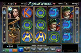 Caça-níqueis de cassino grátis Zodiac Wheel
