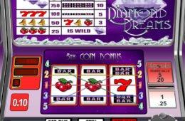 Imagem do jogo caça-níqueis de cassino online Diamod Dreams