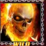 Símbolo curinga- Ghost Rider