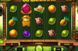 Jogue o jogo caça-níqueis grátis Go Bananas! sem depósito
