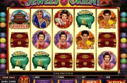 Caça-níqueis online grátis Jewels of the Orient