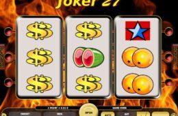 Caça-níqueis online grátis Joker 27