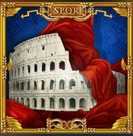 Imagem do caça-níqueis online grátis Luxury Rome