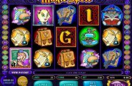Jogo caça-níqueis online grátis Magic Spell