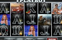 Caça-níqueis online grátis Playboy