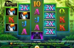 Jogue o caça-níqueis de cassino online grátis Prowling Panther