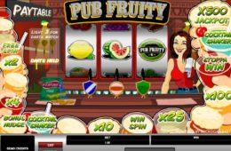 Casino game slot Pub Fruity free online