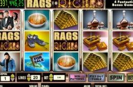 Jogo caça-níqueis de cassino Rags to Riches