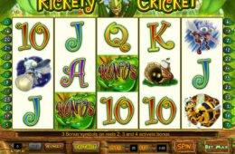 Caça-níqueis online grátis Rickety Cricket