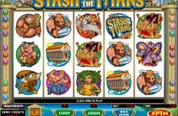 Caça-níqueis de cassino online grátis Stash of the Titans