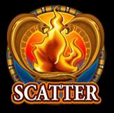 Símbolo disperso do jogo caça-níqueis de cassino online