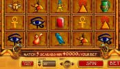 Play free online slot game Treasure of Isis