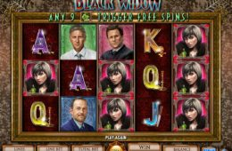 Caça-níqueis online grátis Black Widow