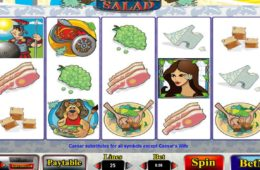Jogo caça-níqueis grátis Caesar Salad