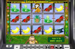 Jogo de cassino online Crazy Monkey