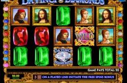 Caça-níqueis online Da Vinci Diamonds