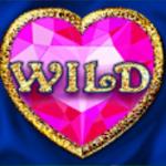 Símbolo curinga do jogo de cassino Diamond Cats