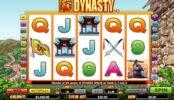 Jogo caça-níqueis online Dynasty sem depósito