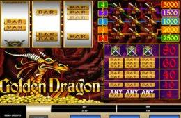 Caça-níqueis online Golden Dragon