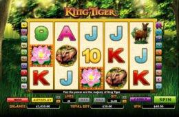 Caça-níqueis de cassino online grátis King Tiger