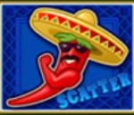 Símbolo disperso – Caça-níqueis online grátis Red Chilli